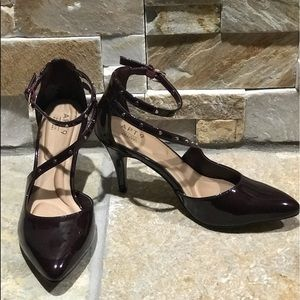 New, Apt. 9, faux leather fashion heels